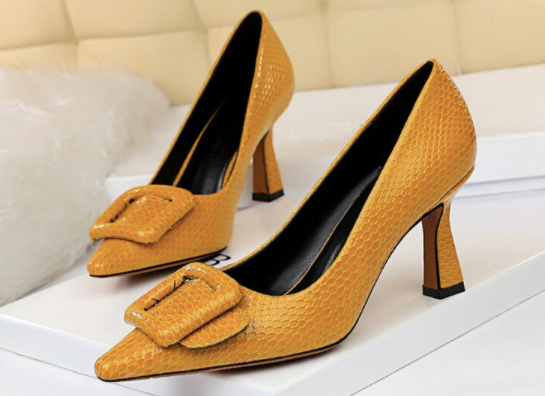 Walking on Sunshine Heels