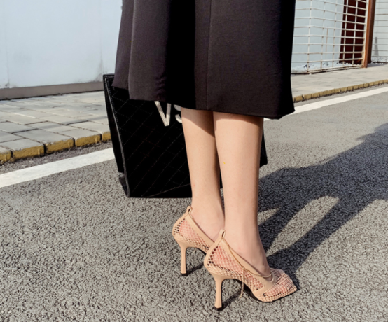 Obsession Heels: Nude