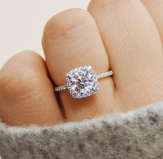 Singularity Solitaire Ring