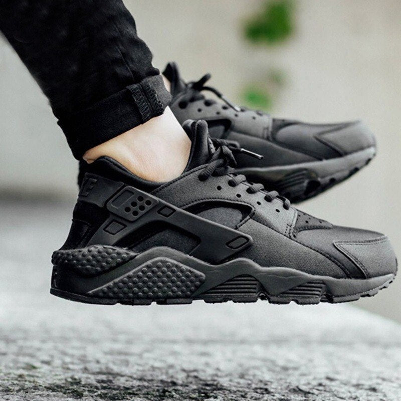 6a4520bed6d31 Original NIKE AIR HUARACHE RUN Women s Running Shoes Sneakers Official  Outdoor Sports Breathable