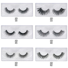 Load image into Gallery viewer, Cross Thick Glue On -1 Pair False Eyelashes $3.49 Free Shipping