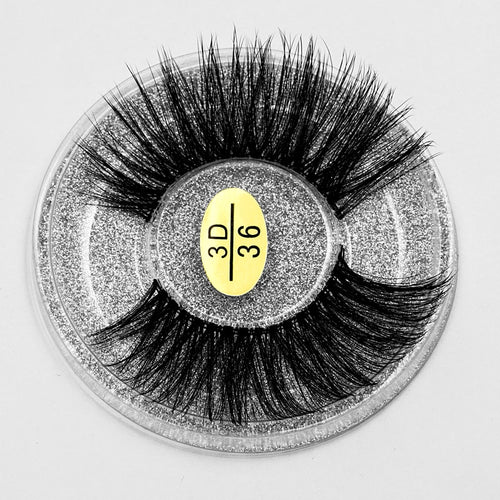 Glue On Slender - 3D Mink Eyelashes $2.99 Free Shipping