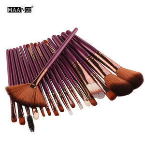 6/15/18Pcs Makeup Brushes Tool Set Cosmetic Powder Eye Shadow Foundation Blush Blending Beauty Make Up Brush Maquiagem