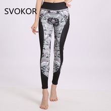 Load image into Gallery viewer, SVOKOR High Waist  Fitness Legging Women Heartbeat Print Fashion Push Up Sexy Ankle-Length Pants Elasticity Leggings Women