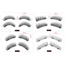 Load image into Gallery viewer, 6D Crisscross Magnetic Eyelashes - 2 magnets 4 styles - $8.95 Free Shipping