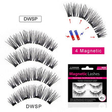 Load image into Gallery viewer, Magnetic Eyelashes- 4 magnets 8 styles $9.95 Free Shipping