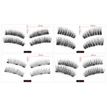 Load image into Gallery viewer, Magnetic Eyelashes with 3 magnets 4 Styles - $9.95 - Free Shipping