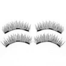 Load image into Gallery viewer, 6D Magnetic Eyelashes - 3 Magnets 6 Styles $9.95 Free Shipping