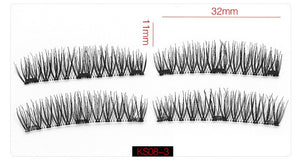 6D Magnetic Eyelashes - 3 Magnets 6 Styles $9.95 Free Shipping