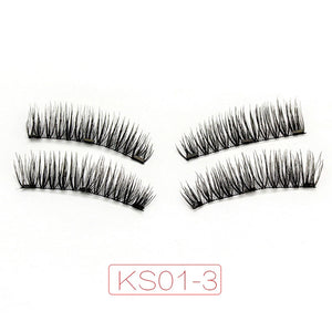 Magnetic Eyelashes - 4 styles - 3 magnets with Applicator $19.95 Free Shipping