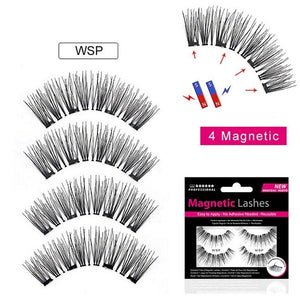 Best Magnetic Eyelashes - 4 Magnets  4 Pieces $9.95 Free Shipping