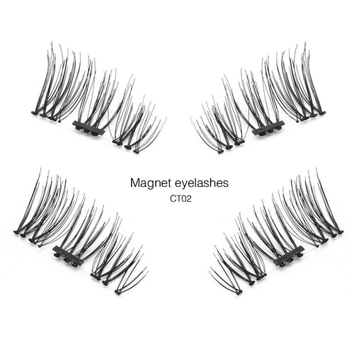 Single Magnetic Eyelashes 4 Pieces 3 Styles $8.95 Free Shipping