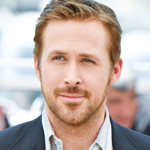 best hair cut and color for a heart shaped face, ryan gosling hair style, mens hairstyle, mens haircuts