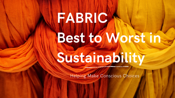 sustainable fashion, sustainability, sustainable fabrics