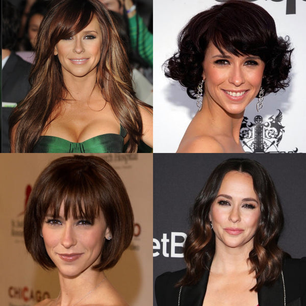 Jennifer love hewitt hair styles, celebrity hair cuts, best hair cut for a heart shaped face, hair tips