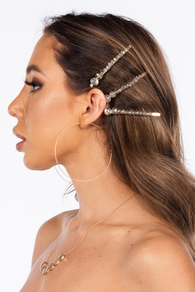 best hair cut and style for an oblong face, hair accessories, hair pins, barrettes, hair trends