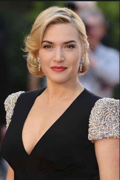 kate winslet hair styles, chignon hair style, celebrity hair, up style, updo, blonde hair