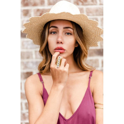 Blakely Straw Fedora-Hats-ShopNorthAuthentic