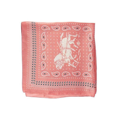 MARKDOWN-Home On The Range Coral Scarf-Scarves-ShopNorthAuthentic