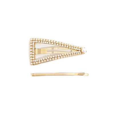 MARKDOWN -Pearl Hair Clip and Pin Set-Barrette-ShopNorthAuthentic