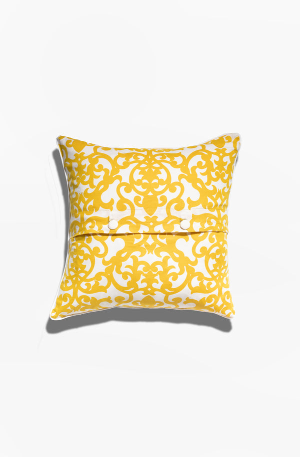 Cushion Cover - Lavanda Citrus Yellow - GAYA ALEGRIA