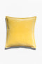 Cushion Cover - Baldu Lemon Yellow - GAYA ALEGRIA
