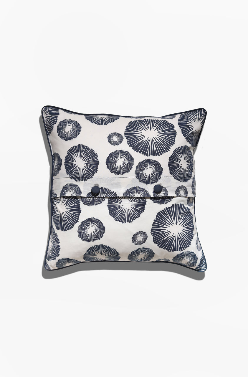Cushion Cover - Marae Midnight Blue - GAYA ALEGRIA