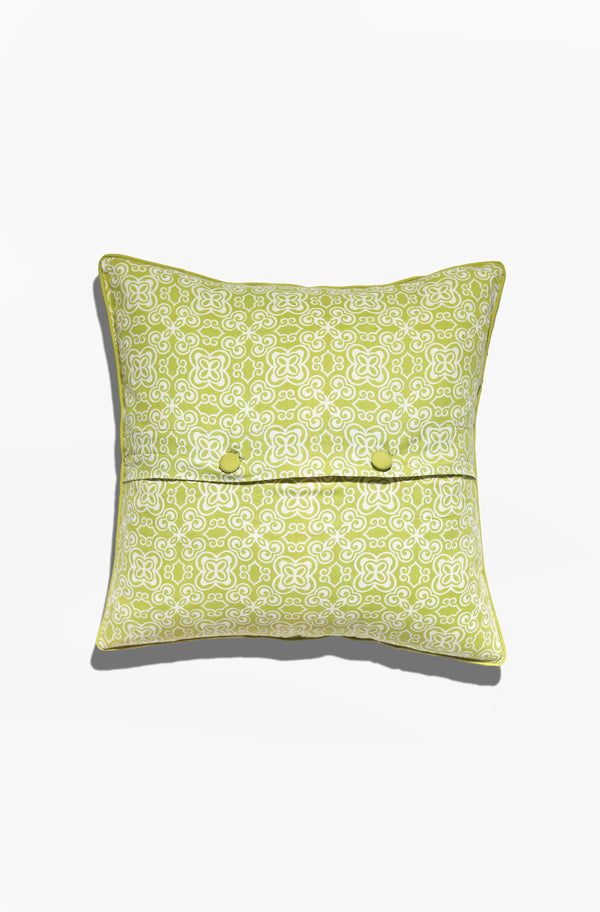 Cushion Cover - Batik Lime Green - GAYA ALEGRIA