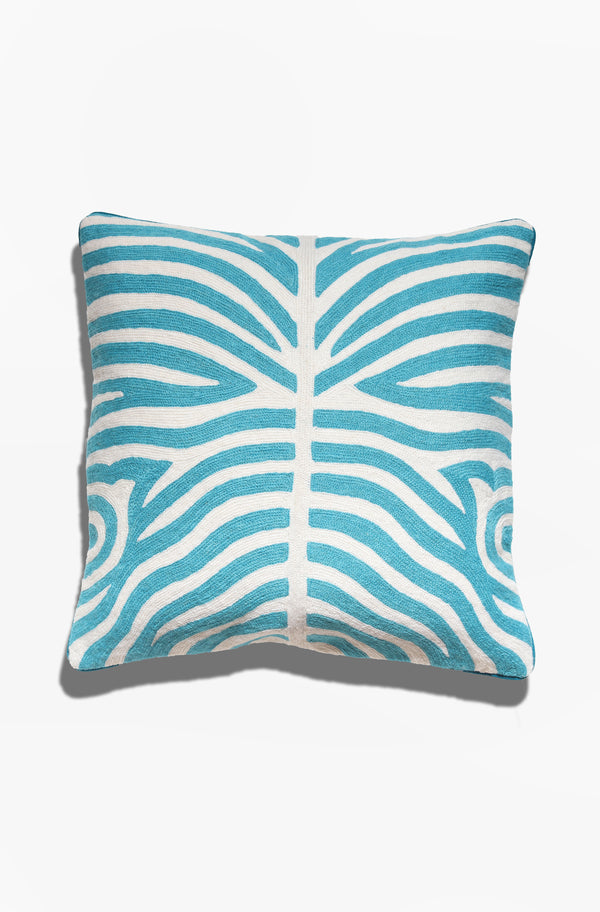 Cushion Cover - Kuda Teal - GAYA ALEGRIA