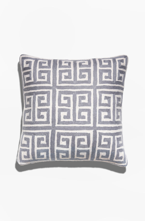 Cushion Cover - Kowloon Gray - GAYA ALEGRIA