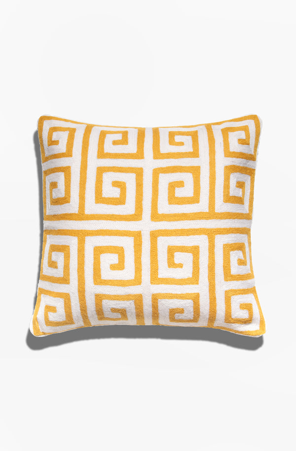 Cushion Cover - Sha Tin Honey Yellow - GAYA ALEGRIA
