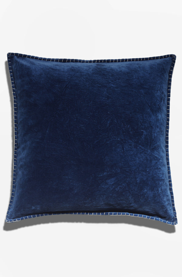 Cushion Cover - Baldu Midnight Blue - GAYA ALEGRIA