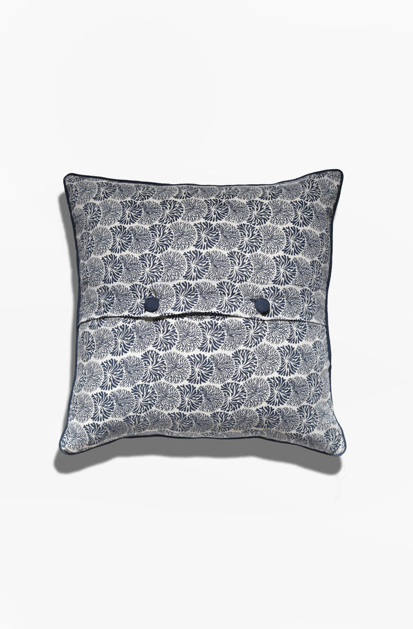 Cushion Cover - Litia Midnight Blue - GAYA ALEGRIA