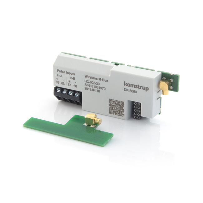 Kamstrup Wireless M-Bus + 2 Pulse Output Module