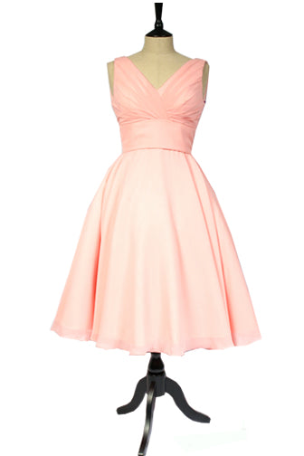 Peach bridesmaid dress UK