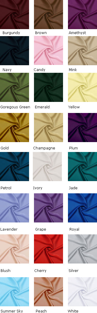 Silky Chiffon Swatches