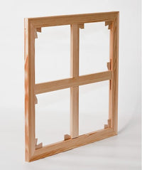 Frame with fitted braces