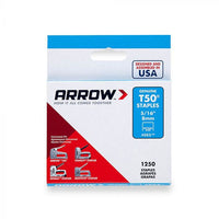 Staples T50 (Box of 1250) for Arrow