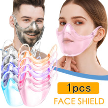 Load image into Gallery viewer, маски Fast delivery máscara Headband Durable Mask Face Combine Plastic Reusable Clear Face Mask Shield mascarillas mondmasker