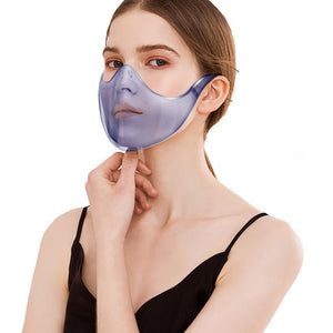 маски Fast delivery máscara Headband Durable Mask Face Combine Plastic Reusable Clear Face Mask Shield mascarillas mondmasker