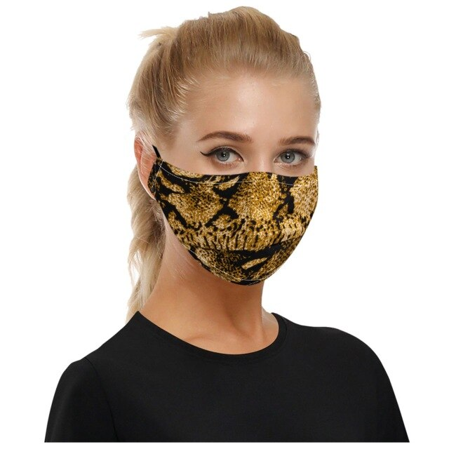 Creative Animal Print Mask