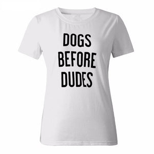 Tshirt DOGS BEFORE