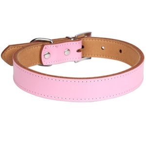 1 Piece Genuine Leather Durable Pet Dog c