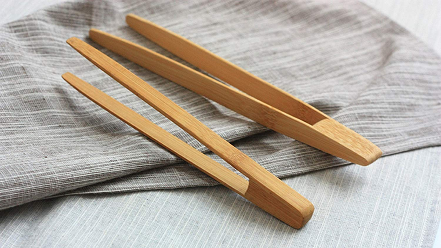 Bamboo Tongs
