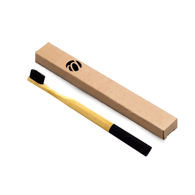 Round Bamboo Handle Toothbrush