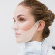 Load image into Gallery viewer, 【NEW Arrival】Transparent Protective Reusable Plastic Anti-Fog Face Covering