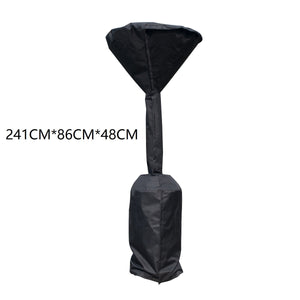 Protective Cover For Patio Heater With Zipper Waterproof Dustproof Snowproof