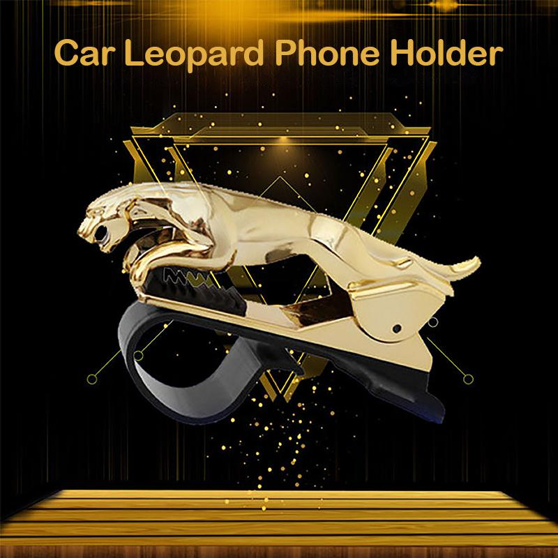 HOT SALE- ColaPa™ Universal 360° Rotating Car Leopard Phone Clip Holder