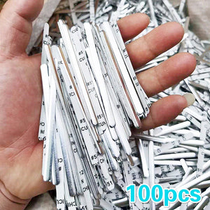 DIY Nose Wire Nose Clip Bridge Metal Flat Aluminum Bar Strip