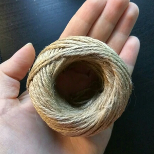 High Quality  DIY Wood Hemp Rope -100 Yard